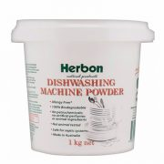 Herbon Dishwashing Machine Powder 1kg, Eco-Friendly Cleaning Product
