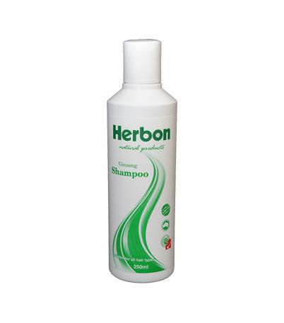 Ginseng Shampoo 250ml, Best Natural & Organic Shampoo Australia