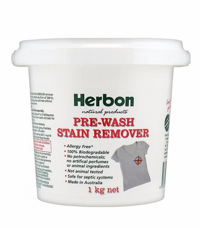 Herbon Prewash Stain Remover 1kg, Best Natural Cleaning Products