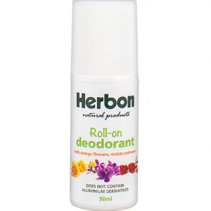 Herbon Roll On Deodorant 50ml, Organic & Natural Deodorants Australia