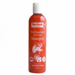 Wild Strawberry Shampoo 250ml, Best Organic Shampoo Australia