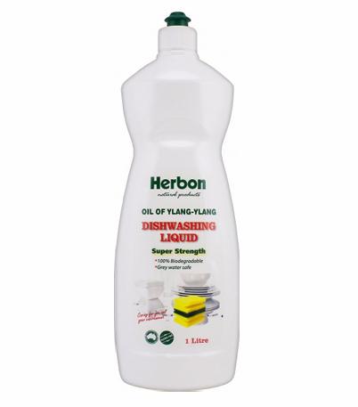 Herbon Dishwashing Liquid 1Lt, Natural & Organic Dishwashing Liquid