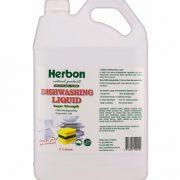 Herbon Dishwashing Liquid 5Lt, Buy Natural Dishwashing Liquid Online