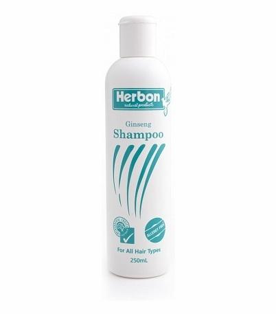 Ginseng Fragrance Free Shampoo 250ml, Organic Shampoo Australia