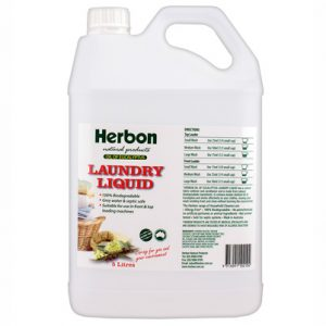 Herbon Laundry Liquid 5Lt, Eco Friendly Laundry Detergent in Australia