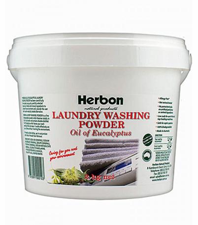Herbon Laundry Washing Powder 2kg, Organic Washing Powder Online