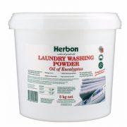Herbon Laundry Washing Powder 5kg, Natural Washing Powder Australia