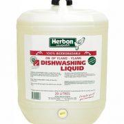 Herbon Dishwashing Liquid 20Lt, Natural & Organic Dishwashing Liquid